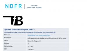 Aanbevelingen voor betere rechtsbescherming bij internationale gegevensuitwisseling